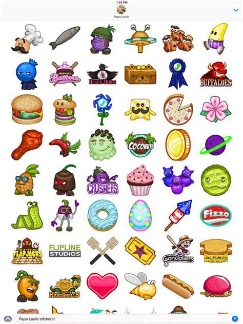 jeux de cuisine papa louie pancakeria app shopper papa louie stickers stickers