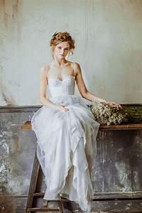 Bridal Portraits Inspiration QuotIsidoraquot Light Grey Wedding Gown