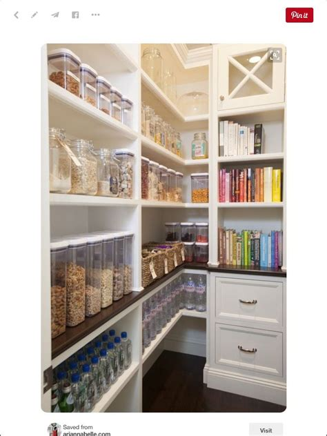 Homeowners simply do not need so much of storage space anyway. Pin by Marsha Elsberry on kitchens | Pantry design, No pantry solutions, Kitchen pantry