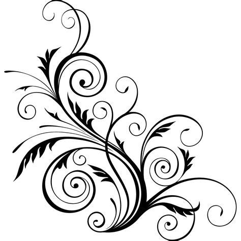 Decorative Swirls - floral swirls decorative wall stickers wall decal