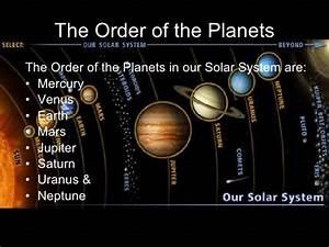 The Solar System Presentation