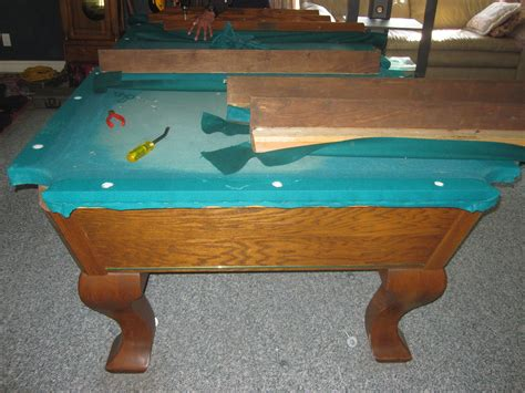 how to refelt a pool table how to refelt a pool table how to refelt a coin operated