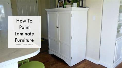 paint laminate furniture youtube
