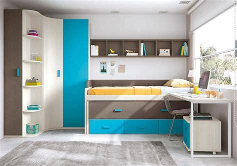 Chambre Garçon Avec Lit Gigogne Et Bureau Design