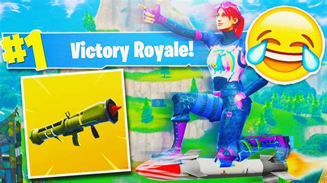 fortnite quot guided missile quot hilarious victory royale new