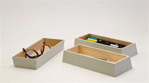 accessoire de bureau original accessoires bureau design bois