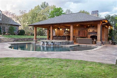 house plans with pools and outdoor kitchens outdoor living spaces outdoor solutions jackson ms