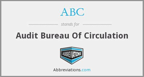 abc audit bureau of circulation