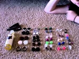 Plug And Gauges Collection From 6g To 1 Inch  4mm To 25mm