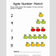 Apple Prek Pack  Creative Preschool Resources