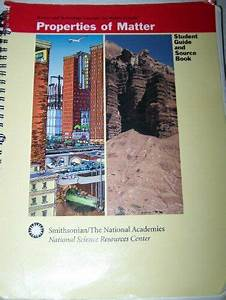 Properties Of Matter  Student Guide And Source Book   Mint