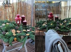 Alles Für Den Balkon : weihnachtsdeko auf dem balkon garten fr ulein ~ Bigdaddyawards.com Haus und Dekorationen
