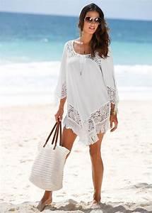Bon Prix De : strandkleid wei jetzt im online shop von ab 24 99 bestellen mit spitze am ~ Orissabook.com Haus und Dekorationen