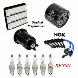 Tune Up Kit Filters Wire Spark Plugs For Mitsubishi