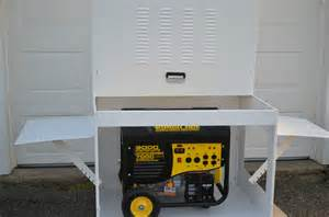 Portable Generator Enclosure Box