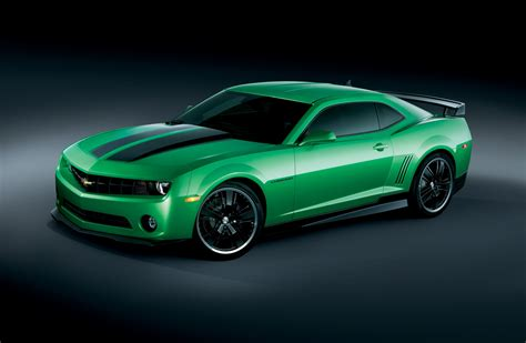 Green Cars by Green Cars Vehicles Chevrolet Camaro Wallpapers