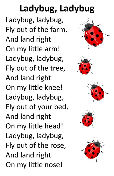 songs about insects for preschoolers itty bitty alphatykes rhyme ladybug ladybug i 991