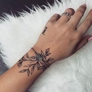 Tattoo Vorlagen Handgelenk : tattoo bl tter handgelenk hand schmuck tattoos ~ Frokenaadalensverden.com Haus und Dekorationen