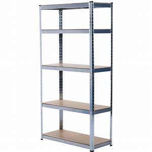 Meuble Rangement Garage : etagere metallique de rangement ~ Melissatoandfro.com Idées de Décoration