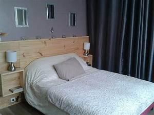Lit Maison Bois : 17 best ideas about tete de lit maison on pinterest bois de lit deco tete de lit and lits ~ Teatrodelosmanantiales.com Idées de Décoration
