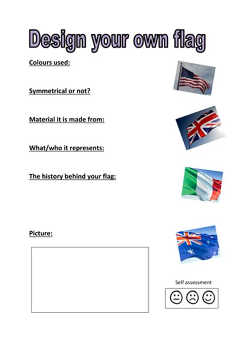 design your own flag design your own flag activity by kayld teaching