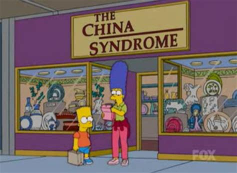 china syndrome simpsons wiki