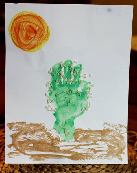 don t sit on a cactus preschool desert activities 187 410 | handprint cactus 2 1