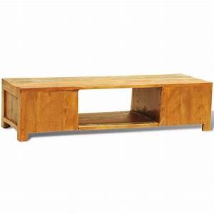 Tv Tisch Vintage : der sideboard tv tisch vintage retro massivholz zwei t re ~ Whattoseeinmadrid.com Haus und Dekorationen