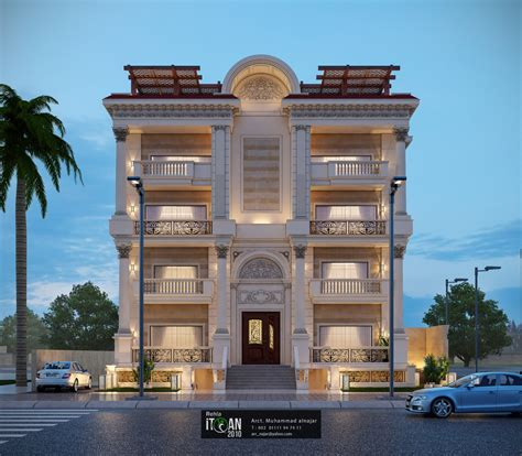 Building Design by Classic Residential Building Design Itqan 2010