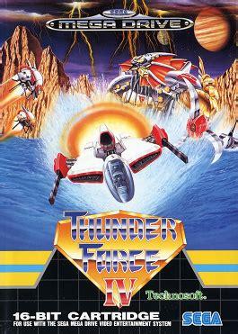 thunder force iv wikipedia