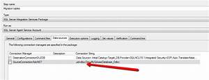 Login Failure When Running A SSIS Package From A SQL
