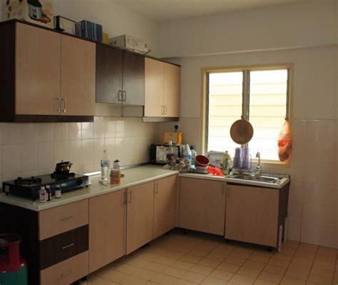 house kitchen interior design dapur sederhana dan rapi kitchen set kayu keramik 4337