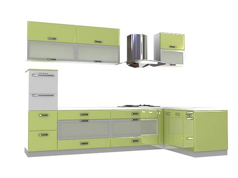 kitchen cabinet 3d olive green kitchen cabinets 3d model 3dsmax files free 2341