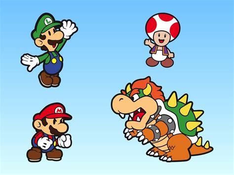 Super Mario Bros Characters