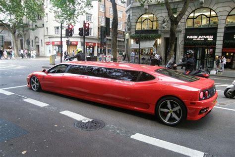 La camioneta más rápida del mundo. Ferrari 360 Modena Limusina !!!Espectacular!!   Lista de Carros