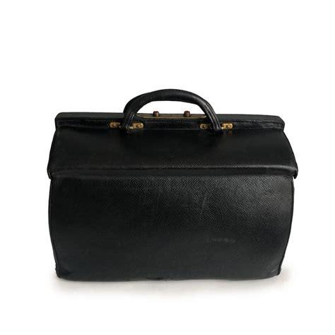 antique louis vuitton black doctors bag sac cabine rare travel bag early    sale  stdibs