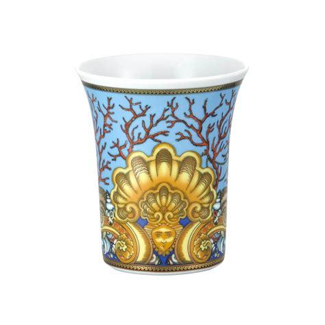 vaso rosenthal vaso les tresors de la mer cm 18 rosenthal versace