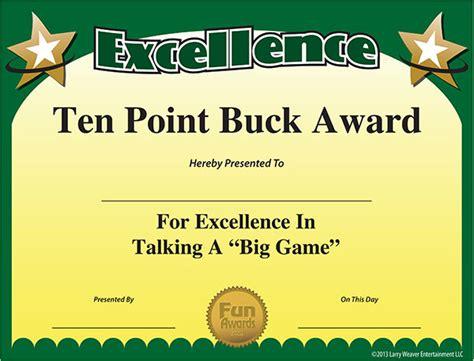 printable certificates funny printable certificates