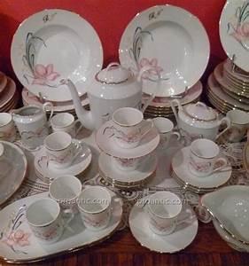 Service Vaisselle Porcelaine : service de table porcelaine de limoges jb de saint eloi porcelaines anciennes ~ Teatrodelosmanantiales.com Idées de Décoration