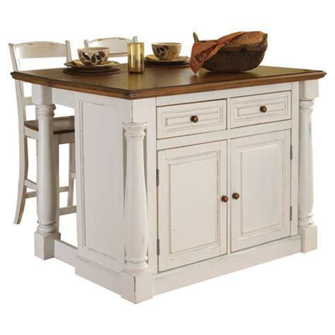 homestyles kitchen island home styles monarch 3 kitchen island set reviews