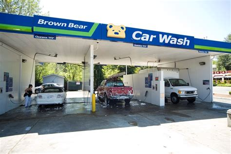 Brown Bear Car Wash