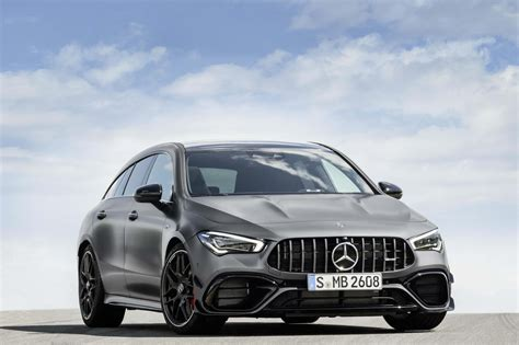 The ideal combination for you: 2020 Mercedes-AMG CLA 45 Shooting Brake Now Official - GTspirit