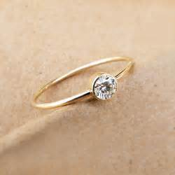 simple gold engagement rings elegance in simplicity - Simple But Engagement Rings