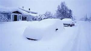 Heavy Snowfall in America - YouTube