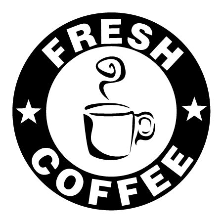 fresh coffee bistro sign wall quotes decal wallquotescom