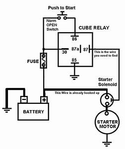 Image Result For Car Starter Relay Wiring Diagram  With