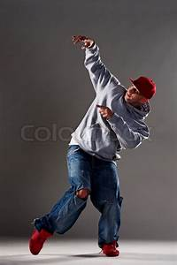 Picture of hip-hop dancer | Stock Photo | Colourbox