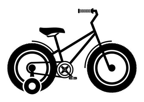 Coloriage Vélo Pour Enfant Avec Des Roues De Formation