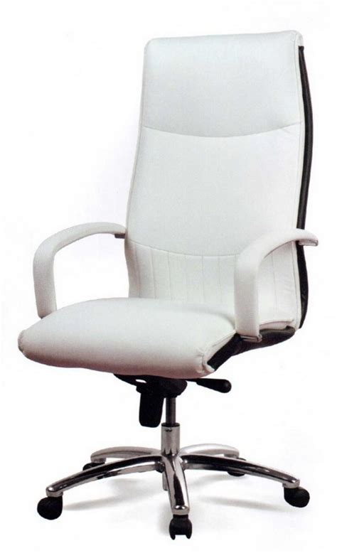 white office chair leather white leather office chair 100