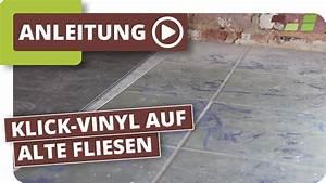 Pvc Fliesen Klicksystem : vinylboden auf fliesen verlegen planeo klick vinyl youtube ~ Frokenaadalensverden.com Haus und Dekorationen